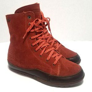 Patagonia Suede Ankle Boots Insulated